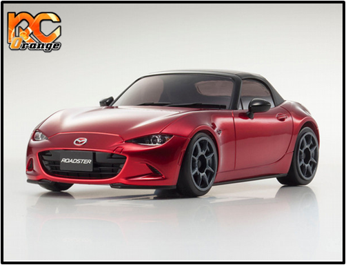 KYOSHO - MZP145R - Autoscale - N.RM.94 - Mazda Roadster MX5 rouge